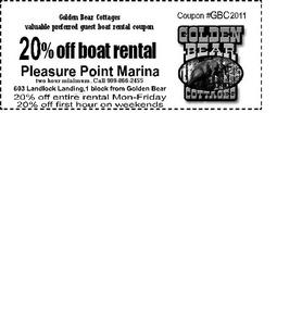 Get Deal big bear marina coupons - kinoframe.ga CODES Conveniently located off Big Bear Boulevard and walking distance from the village, and with on-site parking, Big CODES Conveniently located off Big Bear Boulevard and walking distance from the village, and with on-site parking, Big.
