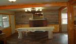 4 Bedroom lakeside - Group size 3 bath cabin with kitchen, 4 fireplaces and bar. #13 Picture 15