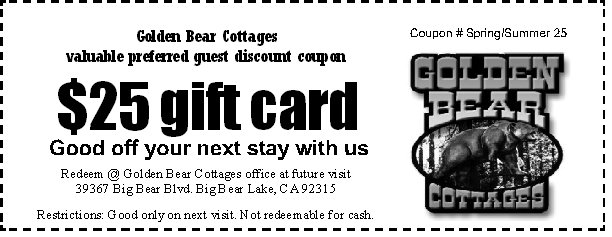 Discount coupons for big bear mountain