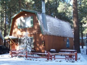 2 Bedroom big cabins - Family size 2 story with kitchen and fireplace. #8,9,21,22,23 Picture 1