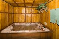 2 Bedroom spa cottages (with Jacuzzi or Hot Tub) - Kitchen and fireplace. #10,16 Picture 2