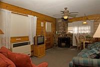 2 Bedroom spa cottages (with Jacuzzi or Hot Tub) - Kitchen and fireplace. #10,16 Picture 17