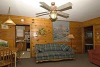 2 Bedroom spa cottages (with Jacuzzi or Hot Tub) - Kitchen and fireplace. #10,16 Picture 7