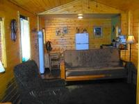 Larger Jacuzzi studio cottage - kitchen and fireplace. #14,18 Picture 3