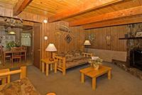 2 Bedroom big cabins - Family size 2 story, kitchen and fireplace. Pet friendly #8,9, No pets #21,22,23 Picture 9