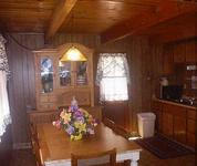 2 Bedroom big cabins - Family size 2 story, kitchen and fireplace. Pet friendly #8,9, No pets #21,22,23 Picture 6