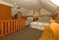 3 Bedroom 2 bath spa cabin with Jacuzzi - Full kitchen and fireplace. #11,17,26 Picture 15