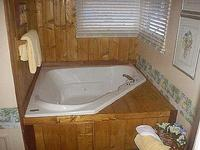 3 Bedroom 2 bath spa cabin with Jacuzzi - Full kitchen and fireplace. Pet friendly #11,17,26 Photo 6
